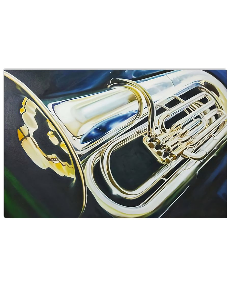 Tubist Art Tuba 17x11 Poster