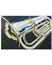 Tubist Art Tuba 17x11 Poster front