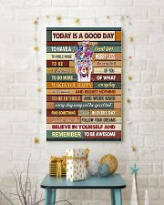 Optometrist Today Is A Good Day 11x17 Poster lifestyle-holiday-poster-3