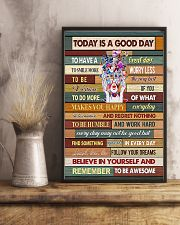 Optometrist Today Is A Good Day 11x17 Poster lifestyle-poster-3