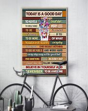 Optometrist Today Is A Good Day 11x17 Poster lifestyle-poster-7