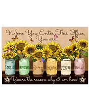 Occupational Therapist Sunflowers  17x11 Poster front