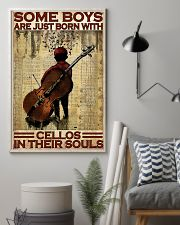 Cello - Some Boys Are Just Born With Cellos 11x17 Poster lifestyle-poster-1