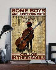 Cello - Some Boys Are Just Born With Cellos 11x17 Poster lifestyle-poster-2