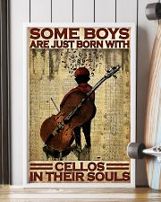 Cello - Some Boys Are Just Born With Cellos 11x17 Poster lifestyle-poster-4