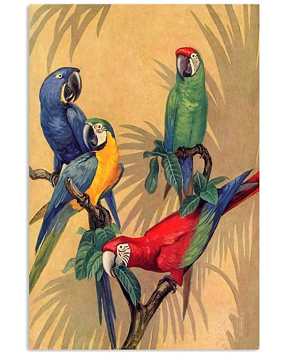 Parrot Tropical Poster