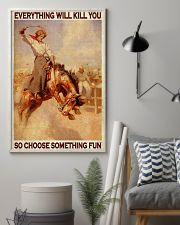 Horse Girls Choose Something Fun 11x17 Poster lifestyle-poster-1
