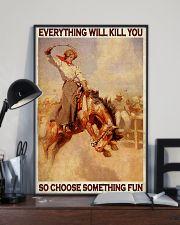 Horse Girls Choose Something Fun 11x17 Poster lifestyle-poster-2