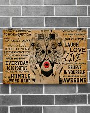Today Is A Good Day Optometrist 17x11 Poster poster-landscape-17x11-lifestyle-18