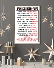Accountant Balance Sheet of Life poster 24x36 Poster lifestyle-holiday-poster-1