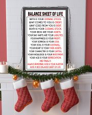 Accountant Balance Sheet of Life poster 24x36 Poster lifestyle-holiday-poster-4