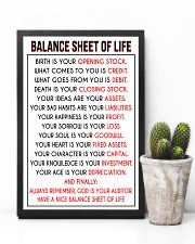 Accountant Balance Sheet of Life poster 24x36 Poster lifestyle-poster-8