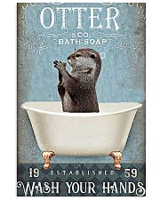 Otter - Wash Your Hands 11x17 Poster front