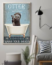 Otter - Wash Your Hands 11x17 Poster lifestyle-poster-1