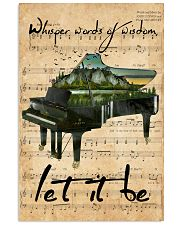 Piano Whisper Words Of Wisdom 11x17 Poster front