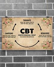 Social Worker Cognitive Behavioral Therapy 17x11 Poster poster-landscape-17x11-lifestyle-18