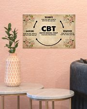 Social Worker Cognitive Behavioral Therapy 17x11 Poster poster-landscape-17x11-lifestyle-21