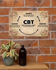 Social Worker Cognitive Behavioral Therapy 17x11 Poster poster-landscape-17x11-lifestyle-23