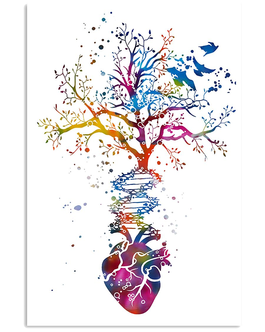 Anatomy Heart Art Office Decor 11x17 Poster