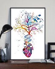 Anatomy Heart Art Office Decor 11x17 Poster lifestyle-poster-2