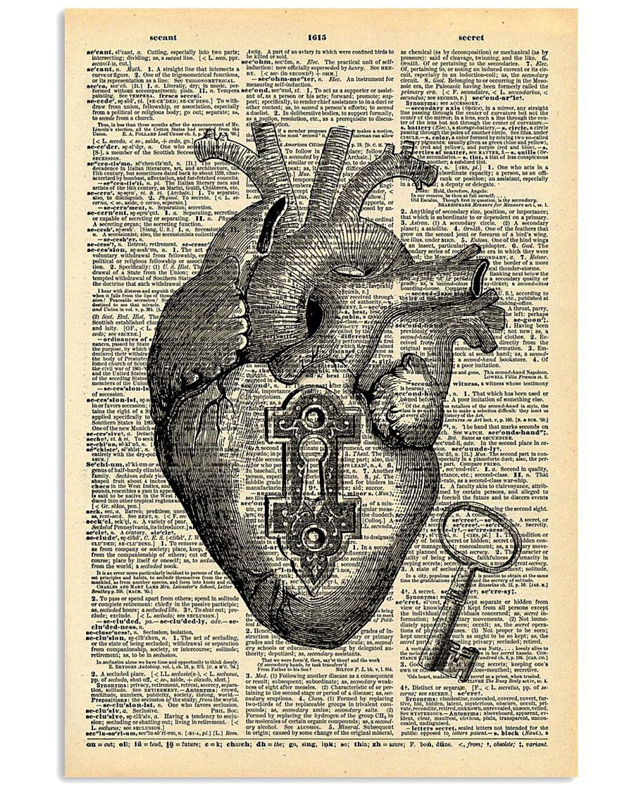 Heart With Key Cardiologist 11x17 Poster
