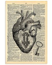 Heart With Key Cardiologist 11x17 Poster front