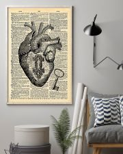 Heart With Key Cardiologist 11x17 Poster lifestyle-poster-1