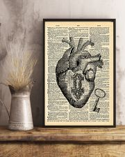 Heart With Key Cardiologist 11x17 Poster lifestyle-poster-3