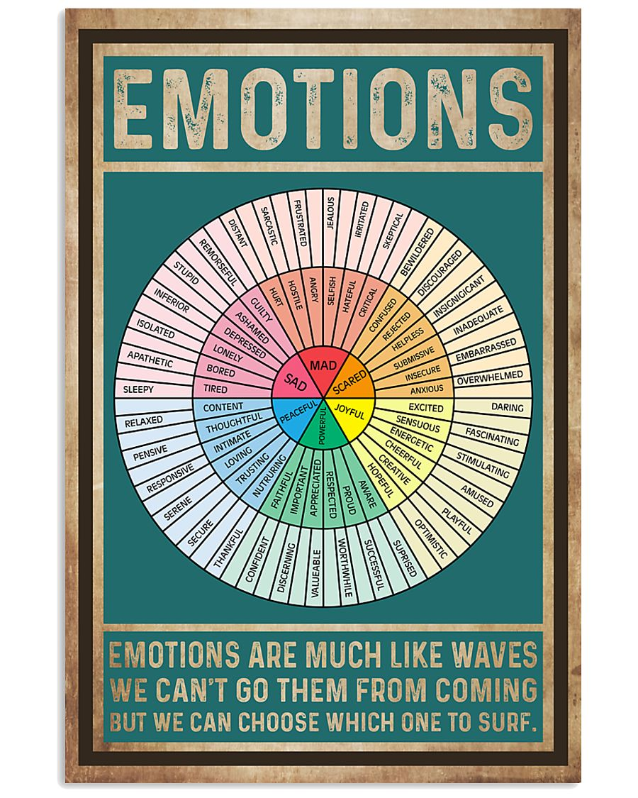 Social Worker Emotions 11x17 Poster