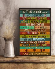 Veterinarian In This Office 11x17 Poster lifestyle-poster-3