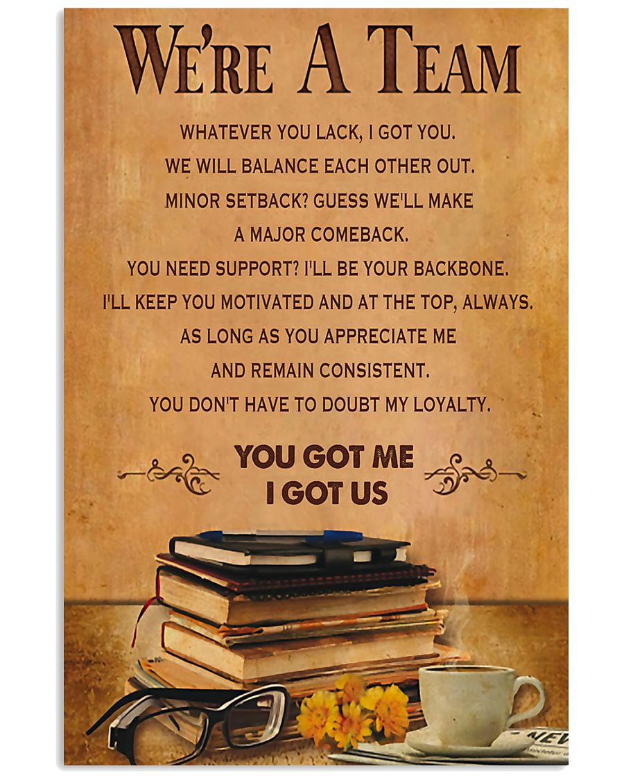 Accountant - We are a team 11x17 Poster