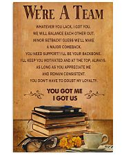 Accountant - We are a team 11x17 Poster front