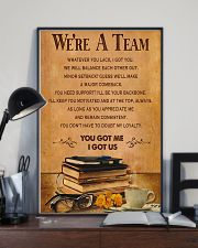 Accountant - We are a team 11x17 Poster lifestyle-poster-2