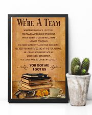 Accountant - We are a team 11x17 Poster lifestyle-poster-8