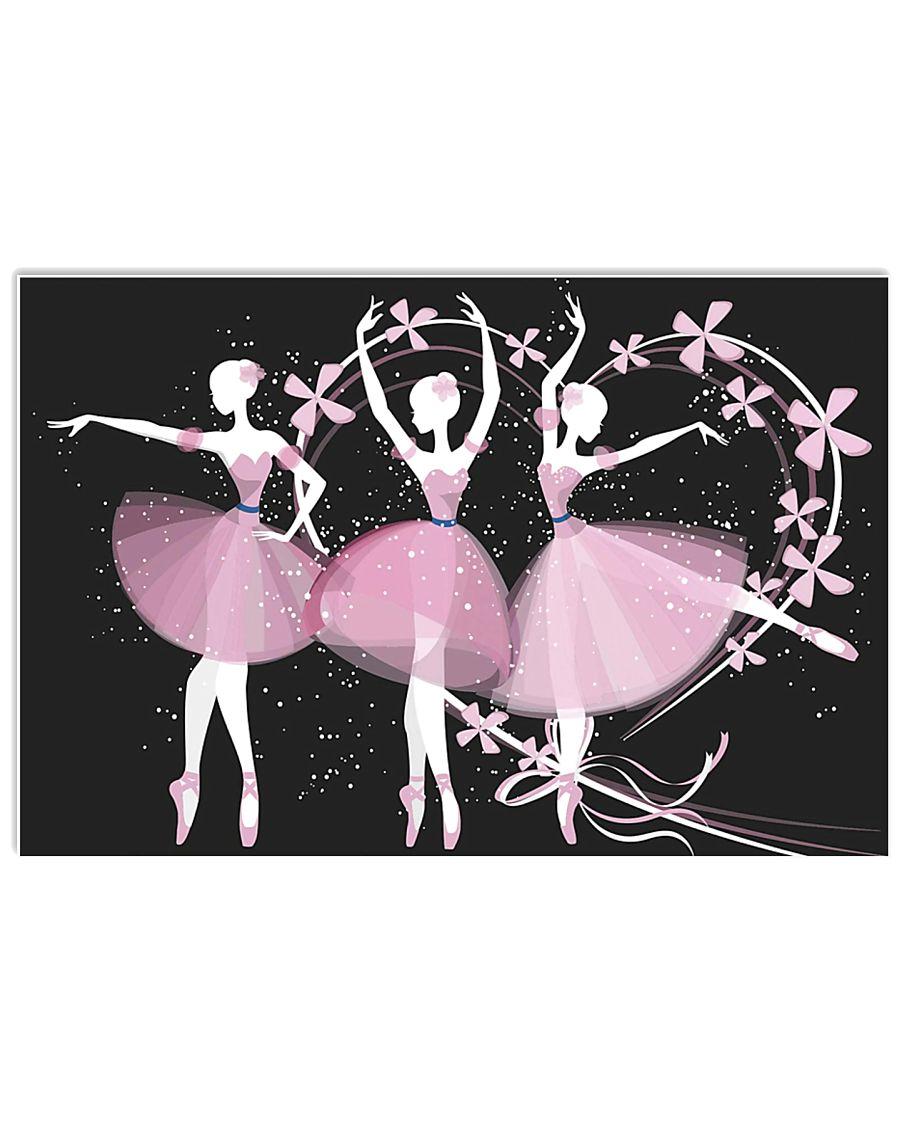 Ballet Girls 17x11 Poster