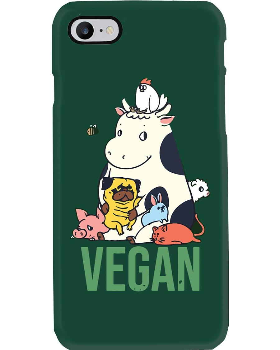 Vegan animals Phone Case