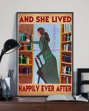 Librarian And She Lived Happily Ever After 11x17 Poster lifestyle-poster-2