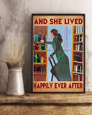 Librarian And She Lived Happily Ever After 11x17 Poster lifestyle-poster-3
