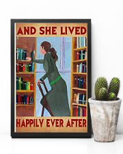 Librarian And She Lived Happily Ever After 11x17 Poster lifestyle-poster-8