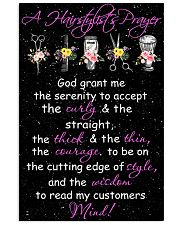 A Hairstylist's Prayer Hairdresser 11x17 Poster front