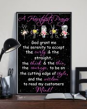 A Hairstylist's Prayer Hairdresser 11x17 Poster lifestyle-poster-2