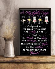 A Hairstylist's Prayer Hairdresser 11x17 Poster lifestyle-poster-3