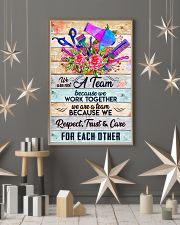 A Team Hairdresser 11x17 Poster lifestyle-holiday-poster-1