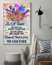 A Team Hairdresser 11x17 Poster lifestyle-poster-1