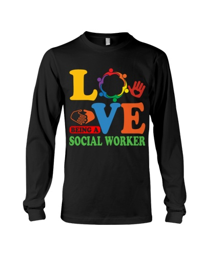 Love being a social worker