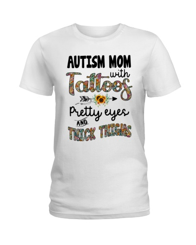 Autism Mom With Tattoos Pretty Eyes