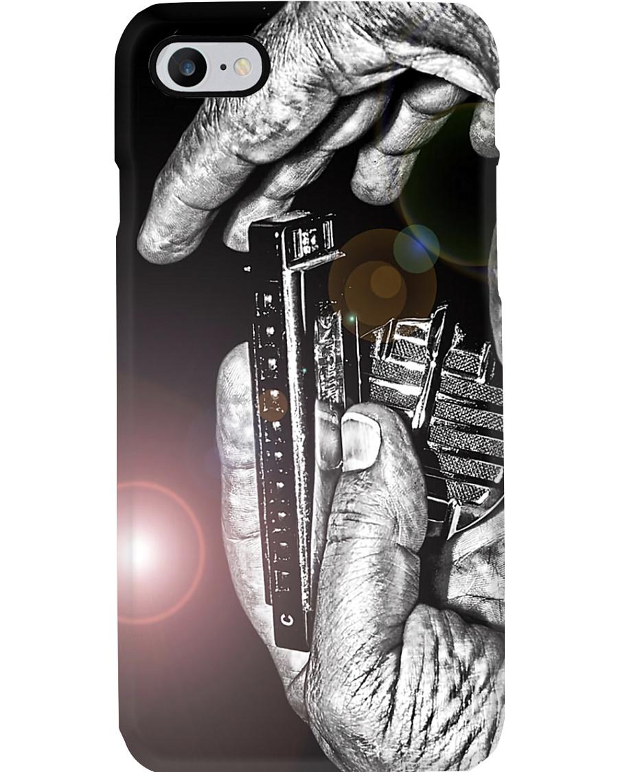 Hand With Harmonica Phone Case