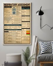 Respiratory Therapist Respiratory Assessment 11x17 Poster lifestyle-poster-1