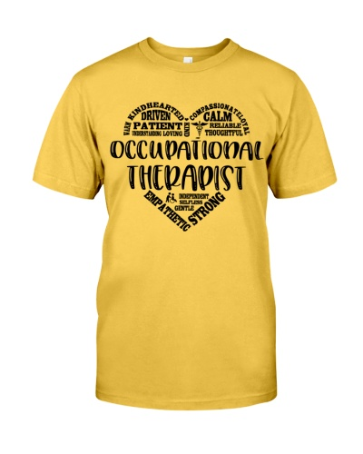 Occupational Therapist Wording