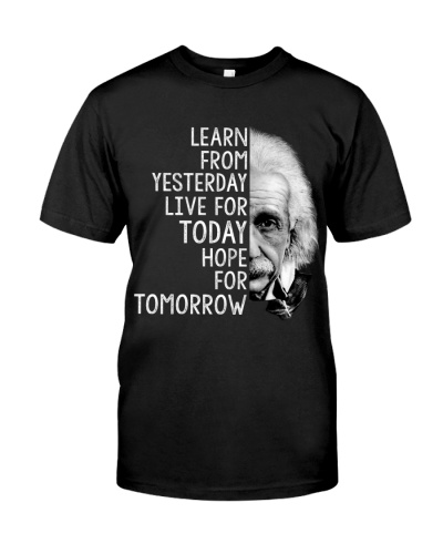 Scientist Learn from Yesterday Hope for Tomorrow